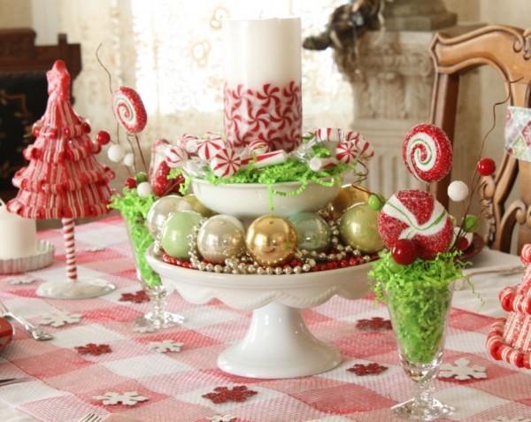 Kreative ideen f r festliche weihnachtsdeko zu hause Dekoration weihnachtstischdeko