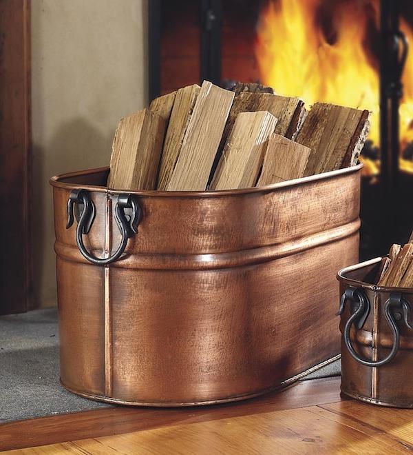 wenig Holz im Haus lagern für 1 Tag