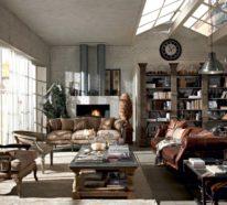 Wohnzimmerlampe Im Industriellen Stil U2013 50 Ideen, Wie Sie Industrielampen  In Szene Setzen