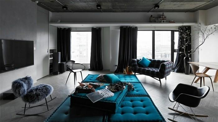 wohnzimmerlampe beleuchtung im industriellen stil