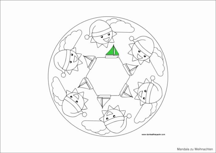 mandala zu weihnachten ausmalbilder weihnachten zwerge