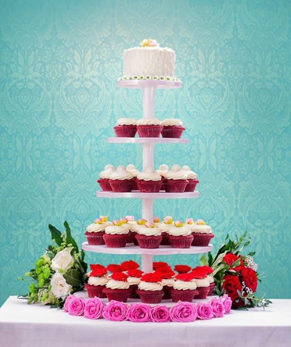 Cupcake Etagere Hochzeit