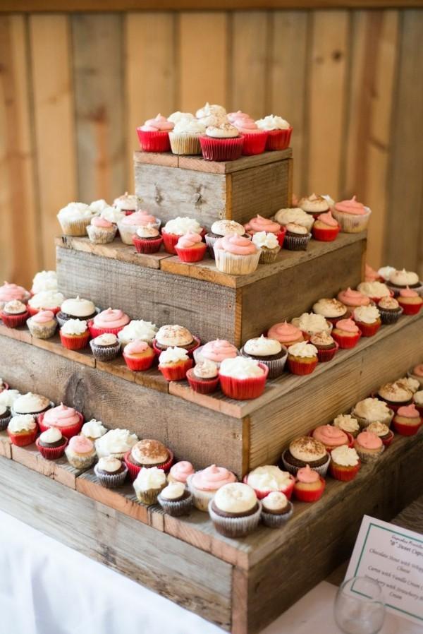 Cupcake Etagere Holz