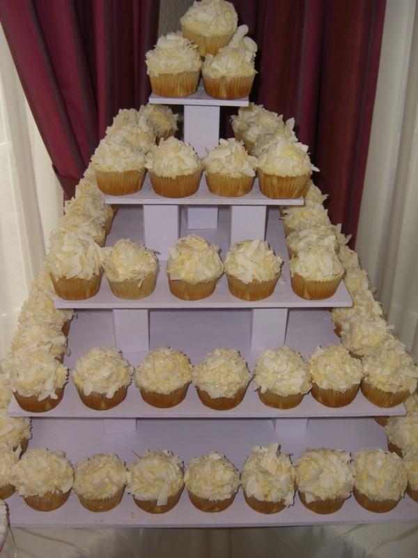 Cupcake Etagere Pyramide Hochzeit