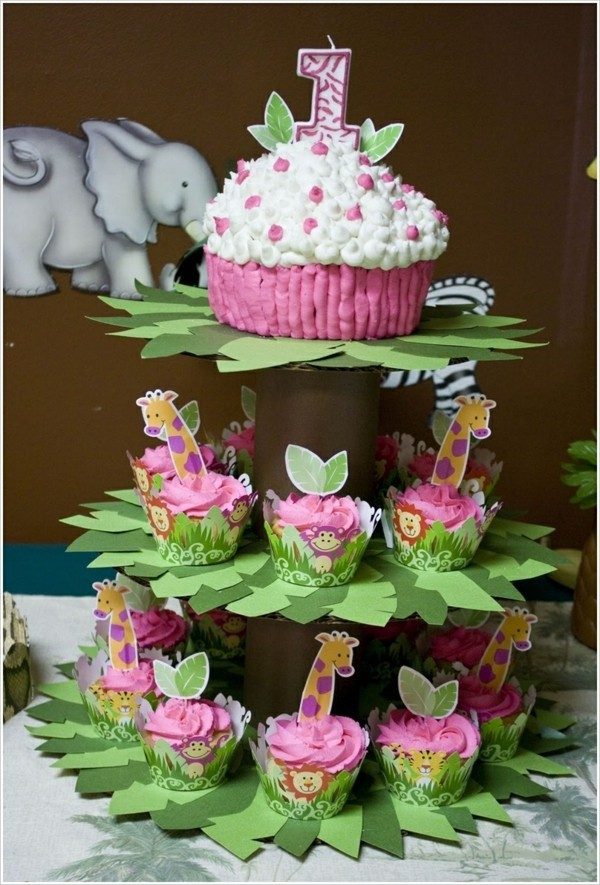 Cupcake Etagere kindergeburtstag