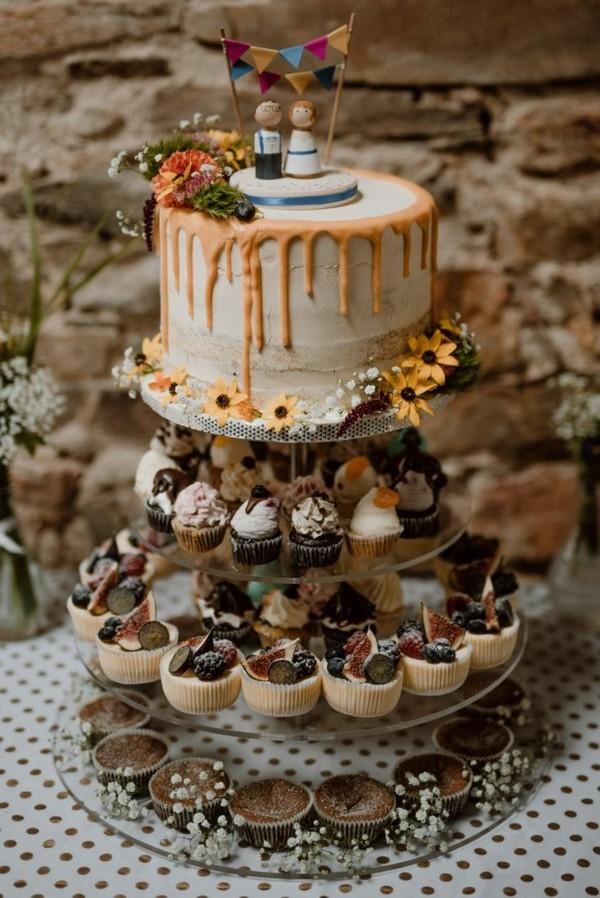 Cupcake und Tortenständer für Hochzeiten