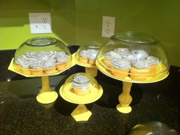 DIY Cupcake Ständer vintage