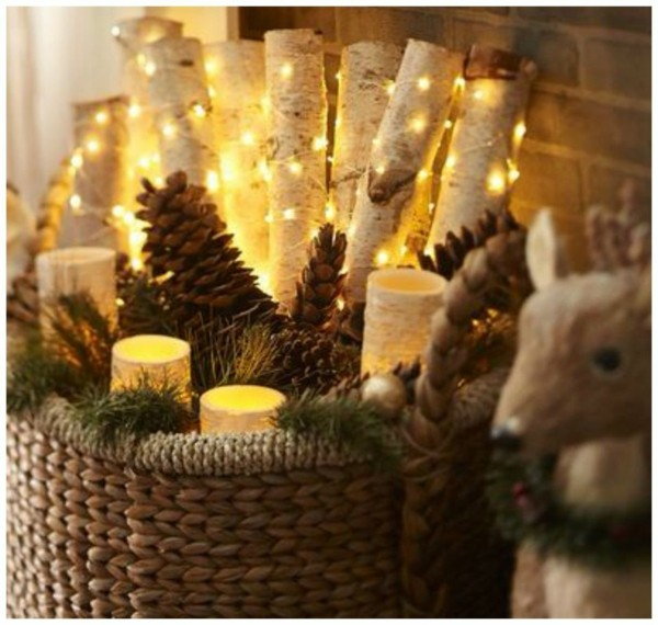 DIY Weihnachtsdeko Aus Holz Idee