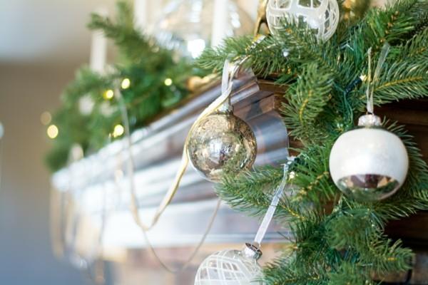 DIY Weihnachtsdeko fürs Wohnzimmer, Feuerstellen Gestaltung