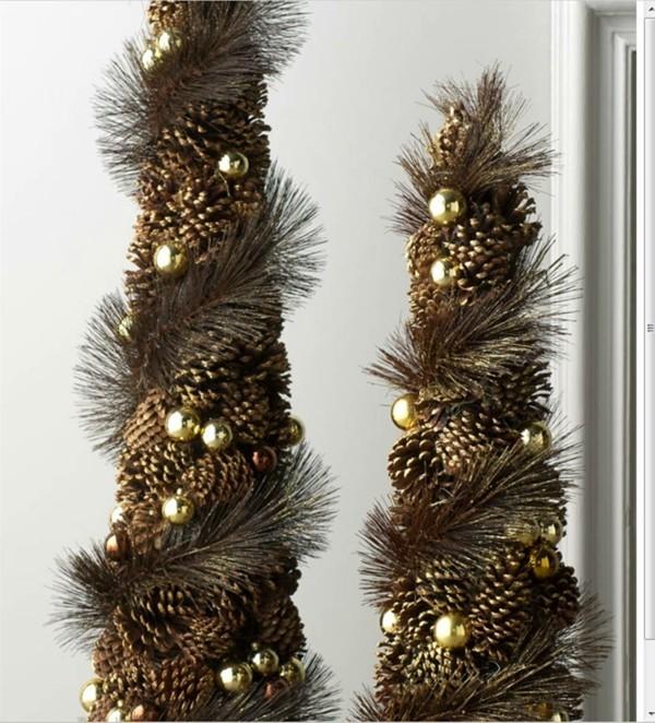 rustikale weihnachtsdeko selber machen effektvolle und. Black Bedroom Furniture Sets. Home Design Ideas