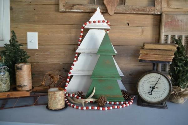 rustikale weihnachtsdeko selber machen effektvolle und einfache ideen. Black Bedroom Furniture Sets. Home Design Ideas