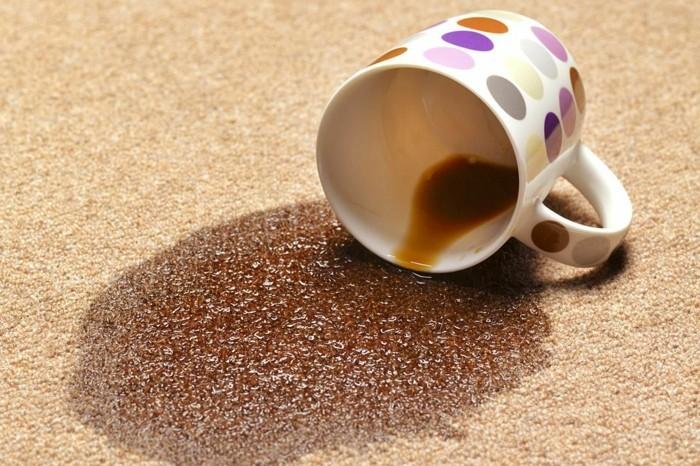kaffee flecken entfernen