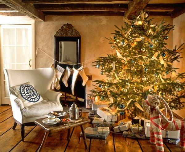 Gemütlicher Raum DIY Weihnachtsdeko