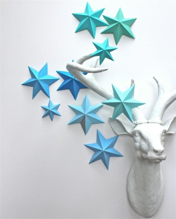 Weihnachtsdeko aus papier diese ideen sollten sie sich - Scha ne weihnachtsdeko selber machen ...