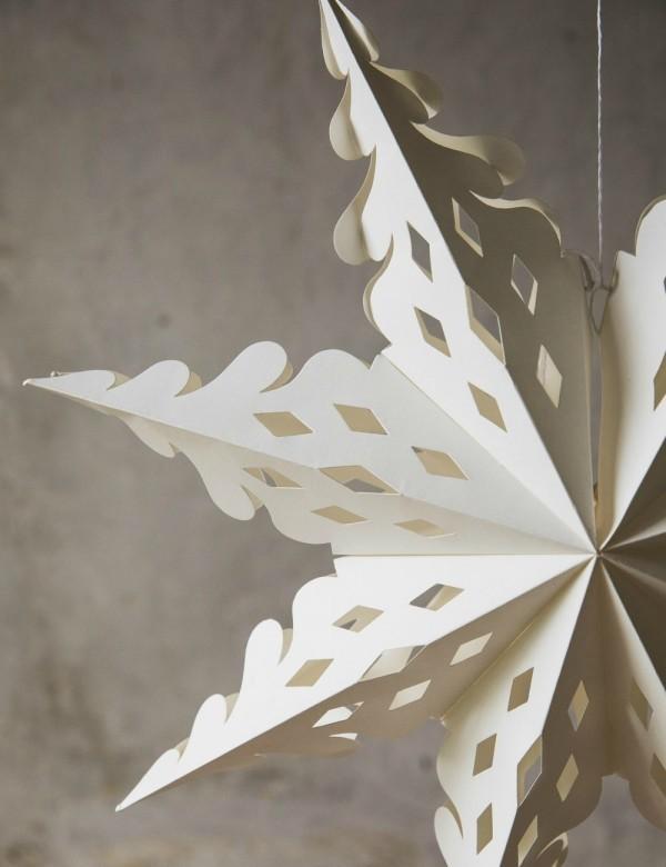weihnachtsdeko aus papier selber basteln europ ische weihnachtstraditionen. Black Bedroom Furniture Sets. Home Design Ideas