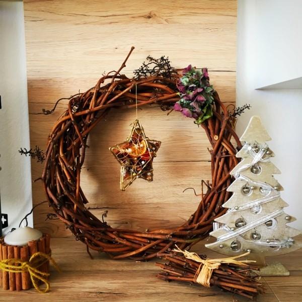 Rustikale Weihnachtsdeko Selber Machen rustikale weihnachtsdeko selber machen effektvolle und einfache ideen