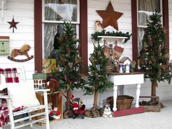 Ländliche DIY Weihnachtsdeko fürs Kinderzimmer
