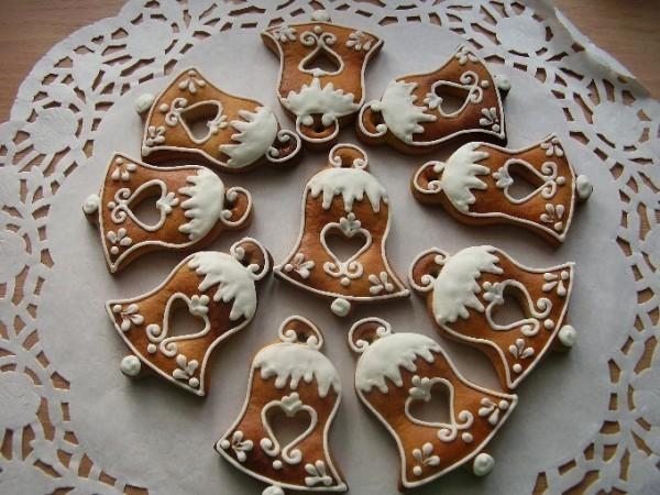 Lebkuchen Weihnachten Glocken