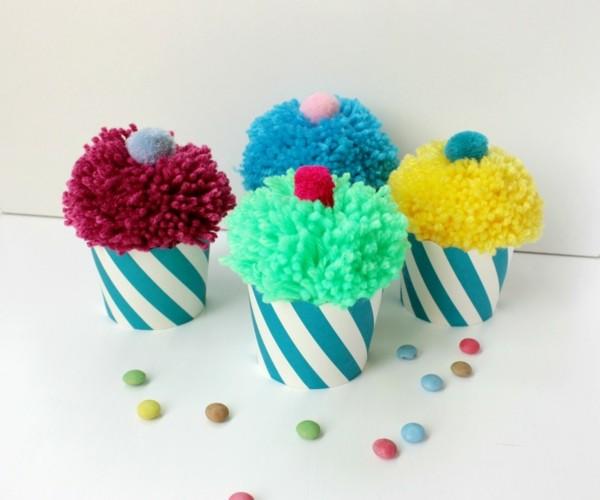 Lustige dekorative 40 Ideen mit Pompons