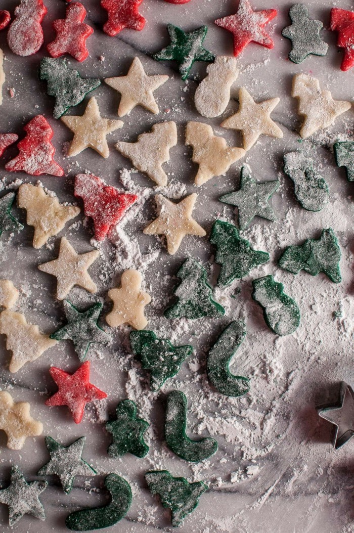 Marzipan selber machen weihnachtsdeko motive