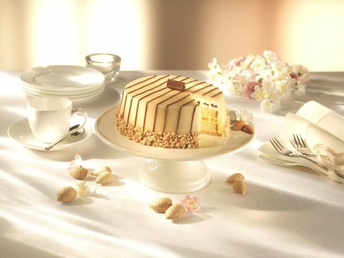 Marzipan selber machen wihnachtsdeko torte