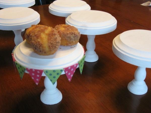 Mehrere Cupcake Ständer zum selber machen
