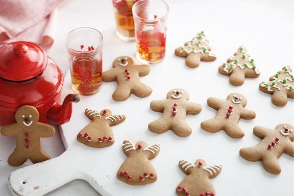 Menschenfiguren Lebkuchen Weihnachten
