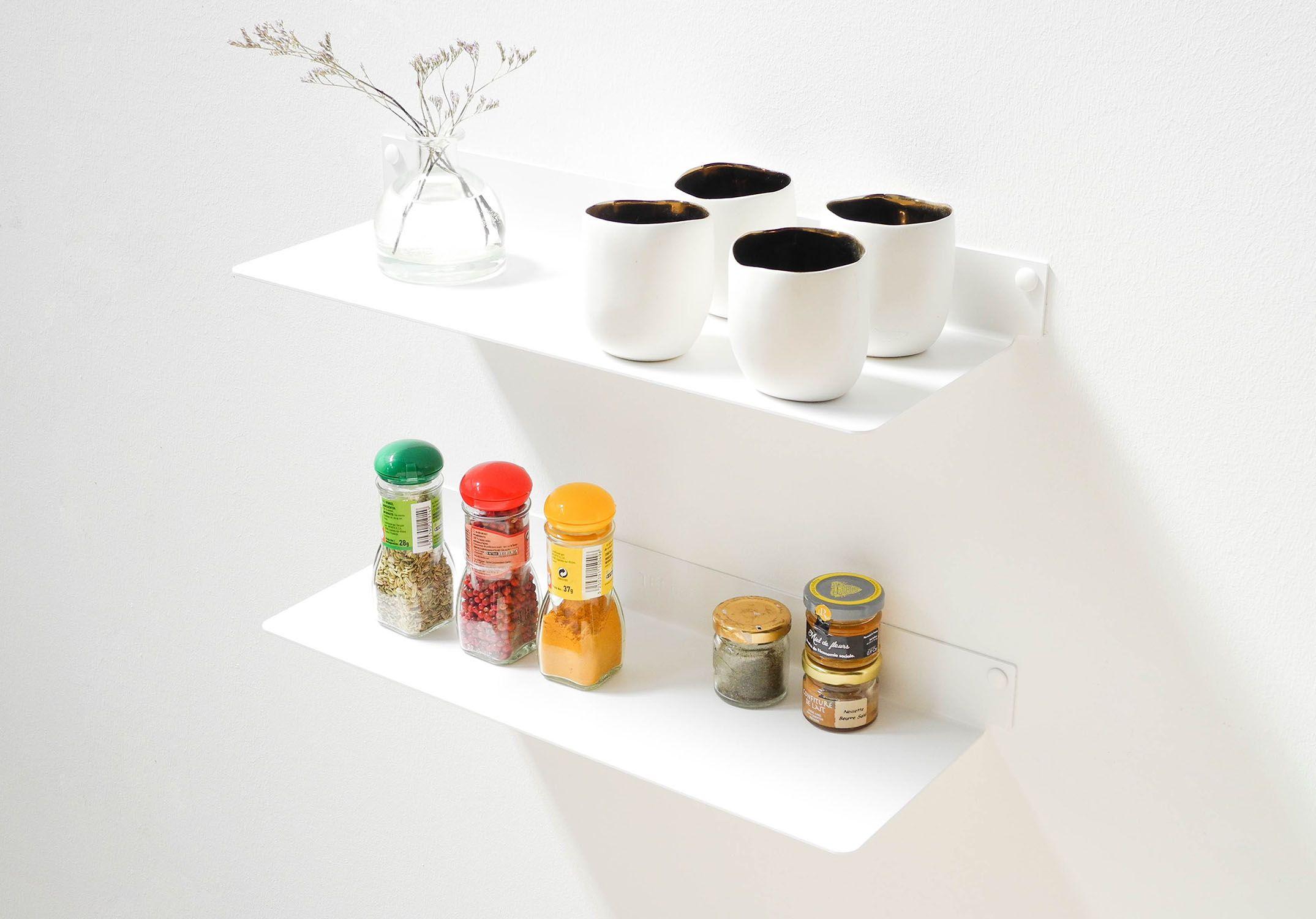 K chenoberschr nke und regale f r minimalistische for Cuisine regale