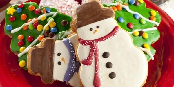 Schneemann Inspiration Lebkuchen backen Weihnachten