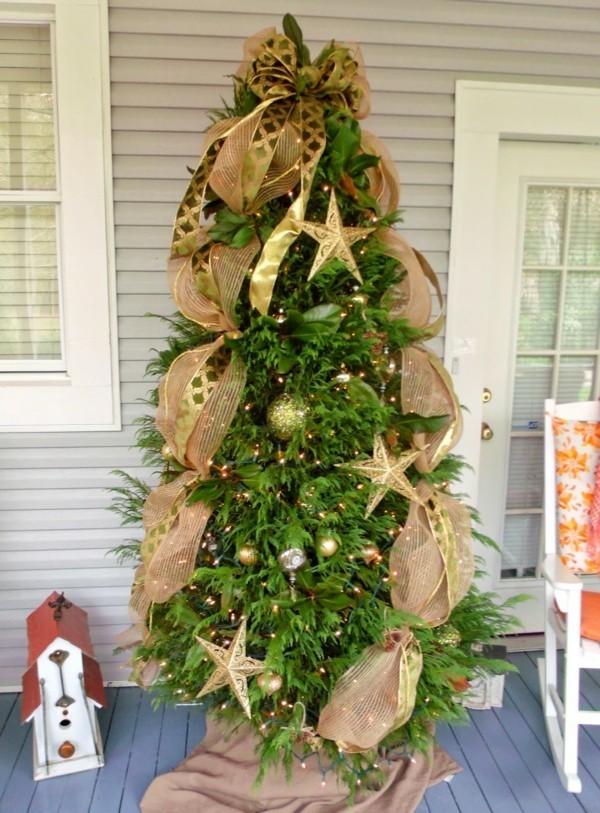 Sehr stilvolle ländlichen Weihnachtsdeko selber machen