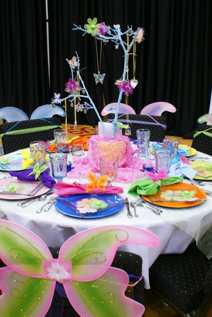 Selbstgemachte Tischsets für Kindergeburtstag