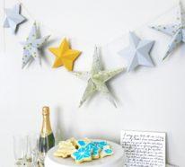 Sterne basteln für Weihnachten – mitOrigami Anleitung klappt´s besser