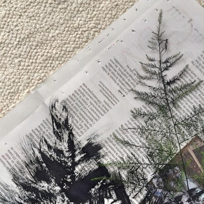 Tishsets selber machen papier aus zeitung