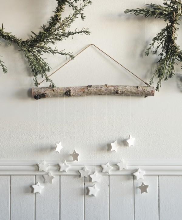 Wandgestaltung- weihnachtsdeko aus Papier selber machen