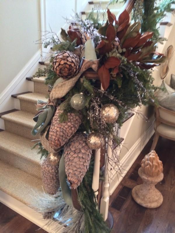 Weihnachtsdeko DIY aus Holz