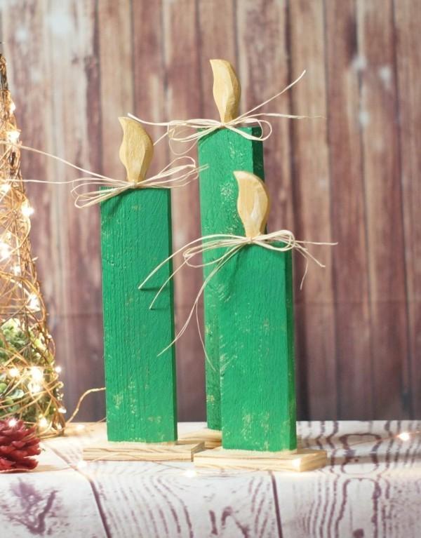 Weihnachtsdeko DIY licht
