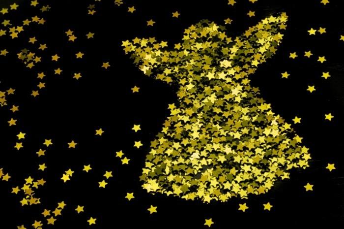 Weihnachtsdeko Ideen mit der Farbe Gold
