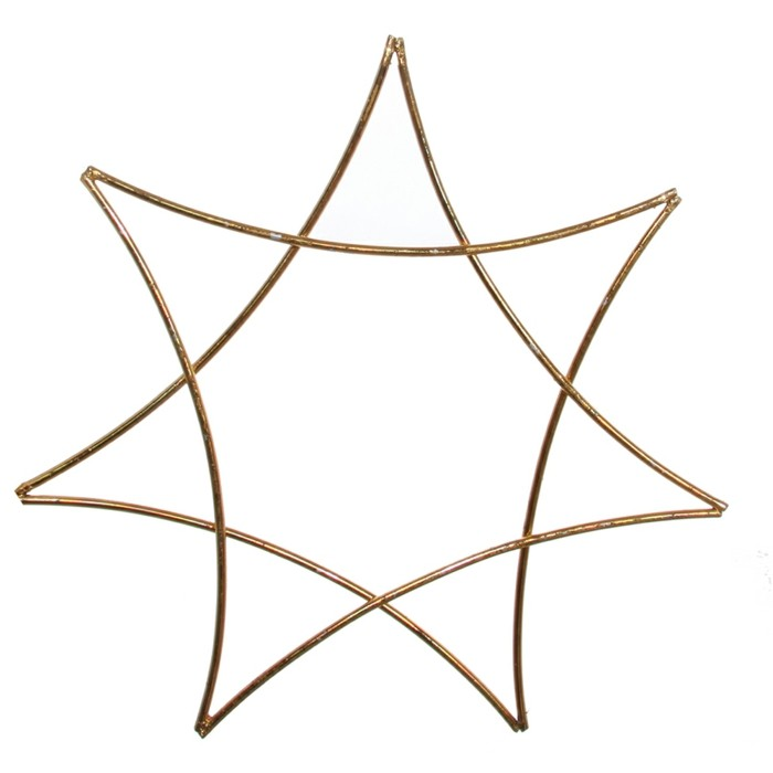 Weihnachtsdeko Ideen mit der Farbe Gold Tannenzapfen sechszack