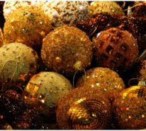 Weihnachtsdeko Ideen und Inspiration rund um die Farbe Gold