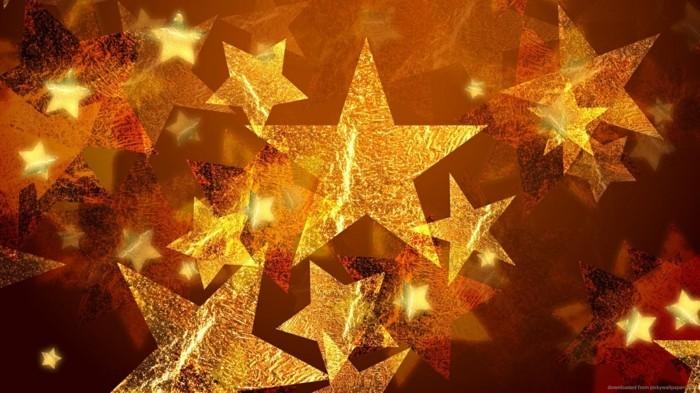 Weihnachtsdeko Ideen mit der Farbe Gold verpackungspapier