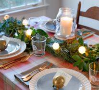 Weihnachtsdeko im Landhausstil macht Weihnachten unglaublich gemütlich und romantisch