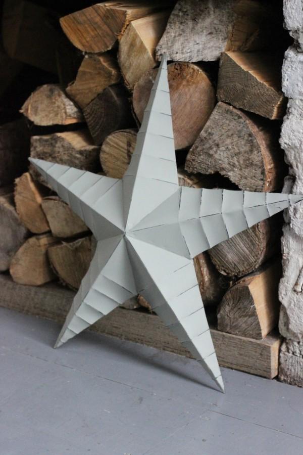 Weihnachtsdekoration origami
