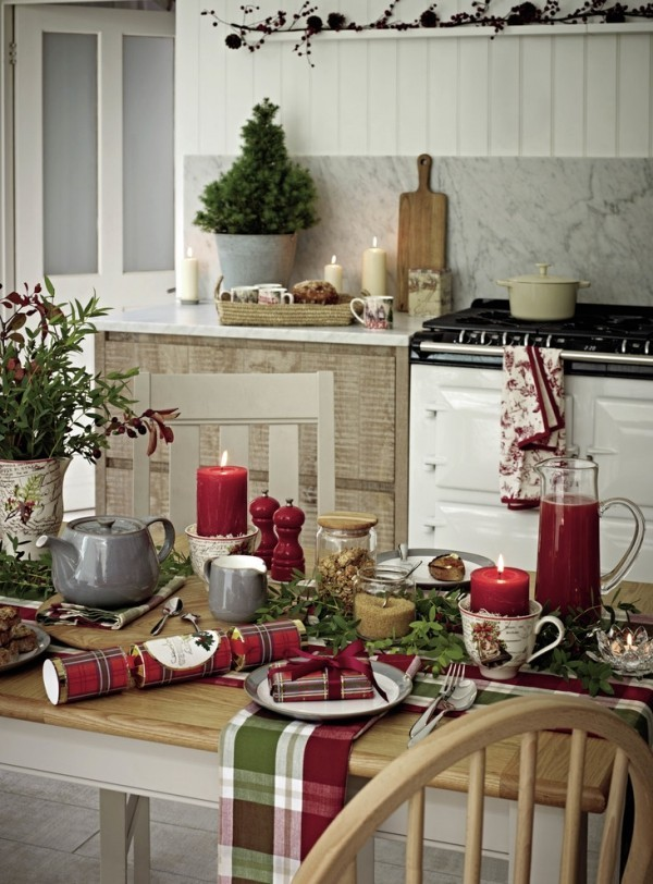 Pinterest Country Christmas Kitchen Table Decor