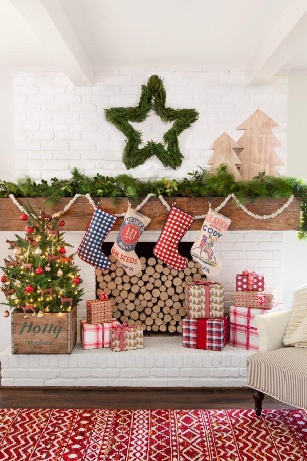 weihnachtsdeko landhausstil macht weihnachten unglaublich. Black Bedroom Furniture Sets. Home Design Ideas