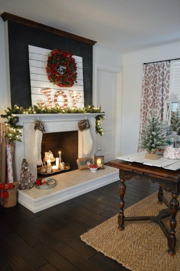 Weihnachtsdeko Landhausstil macht Weihnachten unglaublich ...