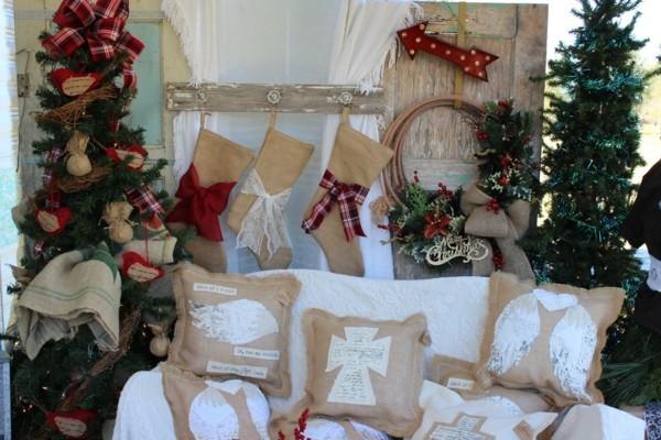 Weihnachtsdeko selber machen Wohnzimmer
