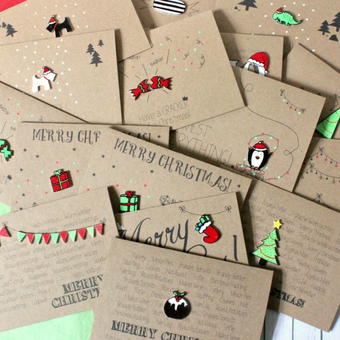 Handmade Christmas Greeting Card Designs