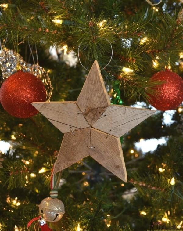 Weihnachtsstern zum selbermachen