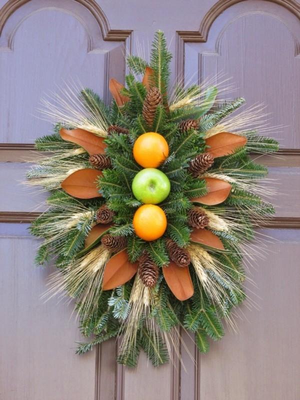 Zitrusfrüchte DIY Weihnachtsdeko