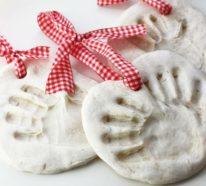 Basteln mit Salzteig – 40 Bastelideen für Salzteig Weihnachtsdeko